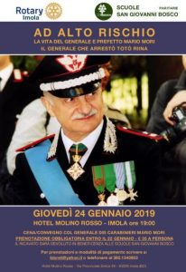 ⇐ ❗ Interclub Gruppo Romagna Nord Relatore: Generale Mario Mori @ Hotel Molino Rosso